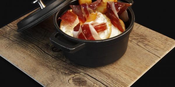 Dos recetas sencillas y sabrosas con jamón ibérico de bellota